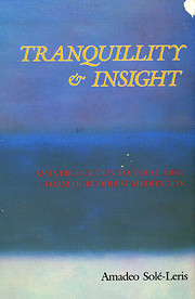 Tranquillity & insight : an introduction to…