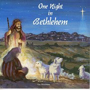 One Night in Bethlehem – tekijä: Tim…