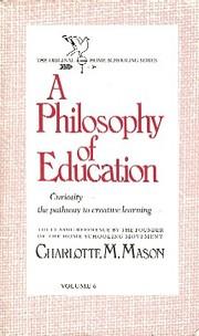 A Philosophy of Education (Homeschooler…