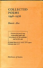 Collected Poems, 1948-76 by Dannie Abse