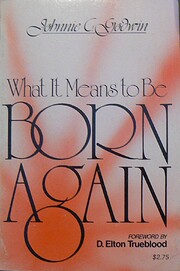 What It Means to Be Born Again de Johnnie…