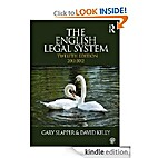 The English Legal System, Twelfth Edition…