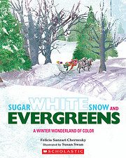 Sugar White Snow and Evergreens: A Winter…