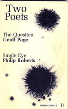 Two poets: The question by Geoff Page