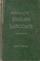 A History of the English Language by Albert…