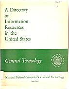 A directory of information resources in the…