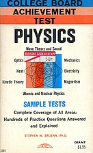Physics; College Board Achievement Test by…
