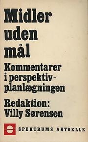 Midler uden mål de Villy Sørensen (ed.)