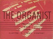 The organist; original pieces and…