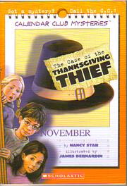 The Case of the Thanksgiving Thief (Calendar…