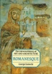 Romanesque Art (Universal History of Art)…