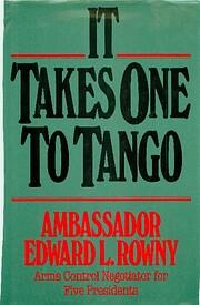 It Takes One to Tango de Edward Rowny, L.