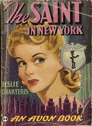 The Saint in New York – tekijä: Leslie…