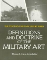 Definitions and Doctrine of the Military…