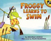 Froggy Learns to Swim av Jonathan London