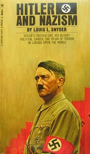 Hitler and Nazism by Louis L. Snyder