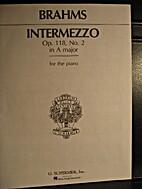 Intermezzo ... Op.117. No.1. Revised and…