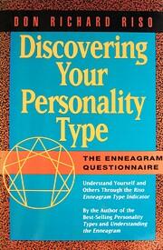 DISCOVER YOUR PERSON TYPE PA por Don Richard…