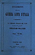 Documenti della Guerra Santa d'Italia 25-26:…