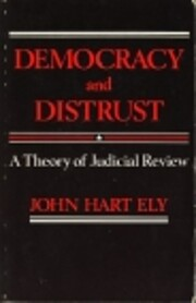 Democracy and distrust : a theory of…