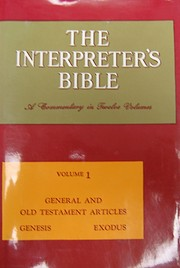 Interpreter's Bible: 001 de George A.…