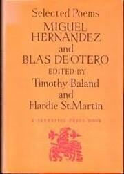 Miguel Hernández and Blas de Otero:…