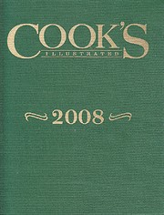Cook's Illustrated 2008 (Cook's Illustrated…