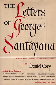 The letters of George Santayana by George…