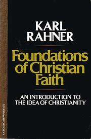 Foundations of Christian Faith av Karl…