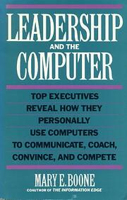 Leadership and the Computer av Mary E. Boone