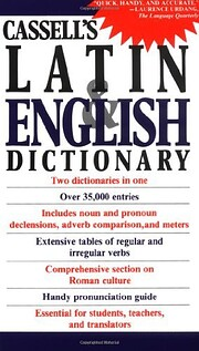 Cassell's Concise Latin-English,…