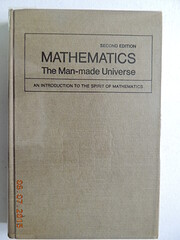 Mathematics: the man made universe av…