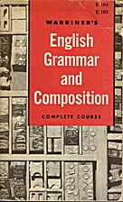 English Grammar and Composition by John E.…