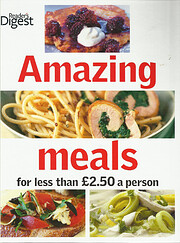 Amazing meals for less than #2.50 a person…