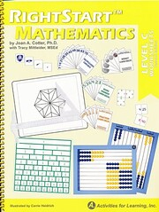 Right Start Mathematics Level C Lessons von…
