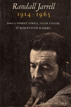 Randall Jarrell, 1914-1965 by Robert Lowell