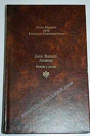 Poesía y prosa av Juan Ramón Jiménez