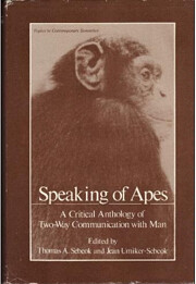 Speaking of Apes: A Critical Anthology of…