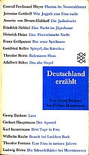 Deutschland Erzahlt: 2.Von Buchner Bis…