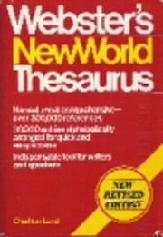 Webster's New World Thesaurus de Charlton…