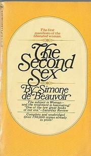 The Second Sex af Simone de Beauvoir