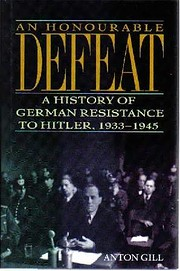 An Honourable Defeat: A History of German…