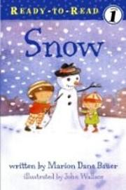 Snow de Marion Dane Bauer