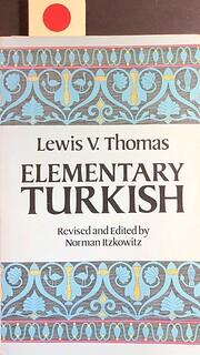 Elementary Turkish de Lewis V. Thomas