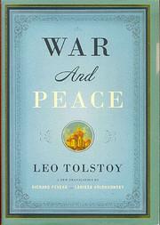 War and Peace (Vintage Classics) de Leo…