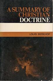A Summary of Christian Doctrine de Louis…