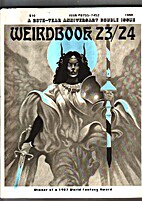 Weirdbook 23/24, 1988. A 20th-Year…