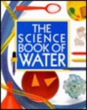 Science Book of Water de Neil Ardley