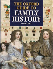The Oxford Guide to Family History de David…