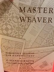 Master weaver: quarterly bulletin for…